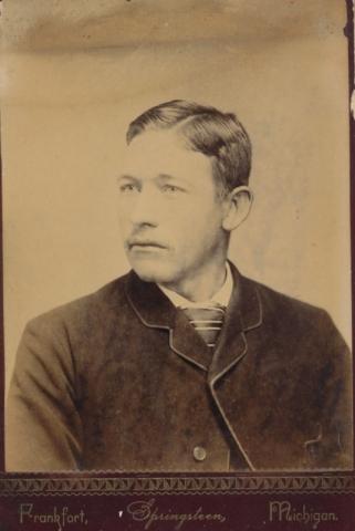 Karl Jakobsson, född 1893 på Frigges 344 där brodern Jakob Jakobsson var ägare.