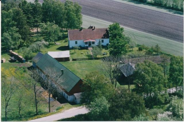 Flygfoto över Matisse 247 där Harry och Britta Lyander bor idag.