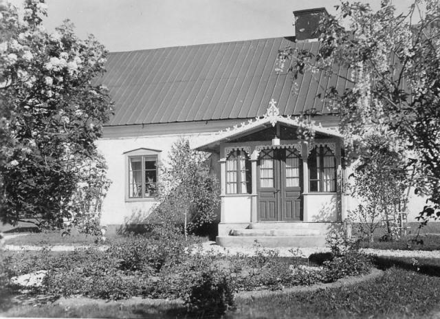 Bomunds i Burgen 802 där Per-Erik Ivarsson bor tillsammans med sin fru Gun Sävhammar.