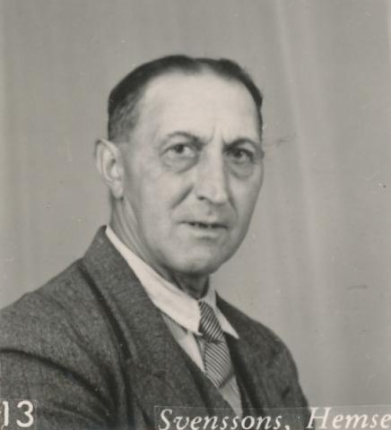 Oskar Johansson, född 1888 på Hallbjänne 690, blev 1912 gift med Kristina Rylander på Haltarve 219.