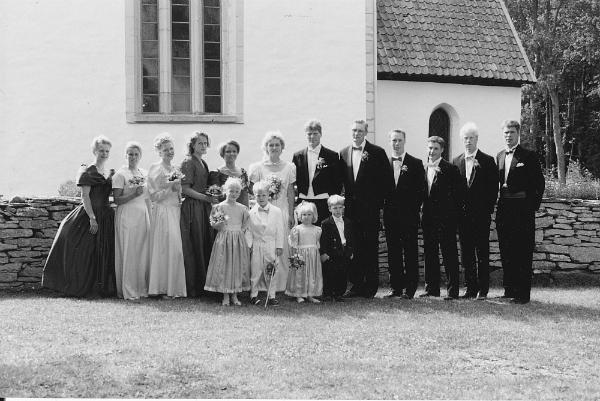 Bröllop Carina och Mikael Thorén