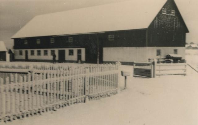 Ladugården vid Haltarve 253 KGP som idag ägs av Arne Fredin.