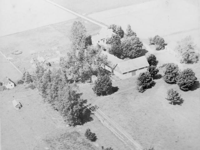 Flygfoto över Folke 858.
