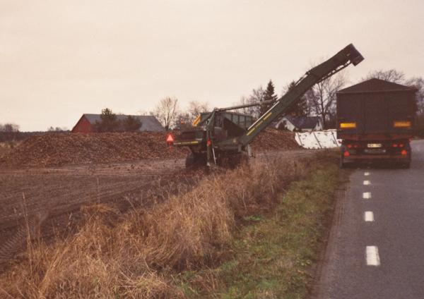 Hägdarve 403: En viktig del av jordbruket på När upphör: sista bettransporten 2006.